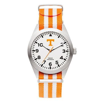 Tennessee Volunteers Unisex Nato Striped Strap Watch by Jack Mason