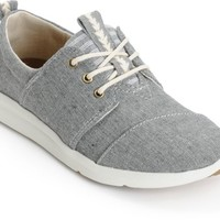 Toms Del Rey Grey Chambray Blocked