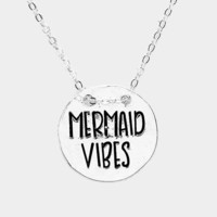 Mermaid Vibes Coin Necklace