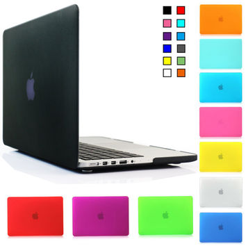 2 in 1 Matte Hard Shell Case Cover & Keyboard Cover for Macbook Pro 13.3'' with Retina display NO CD-ROOM A1502 A1425