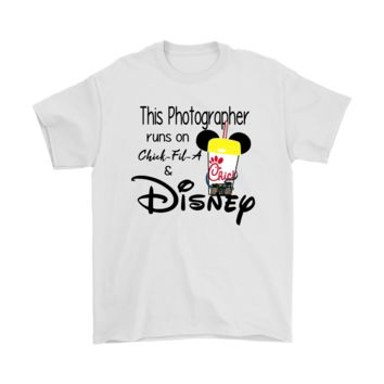 KUYOU This Photographer Runs On Chick-Fil-A And Disney Shirts