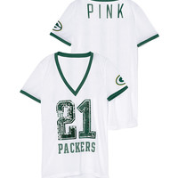 Green Bay Packers Bling Mesh Jersey