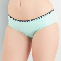 ModCloth Luxe Another Day, Another Wave Swimsuit Bottom