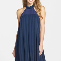 Women's BCBGeneration Chiffon Halter Swing Dress,