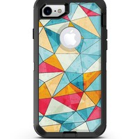 Triangular Geometric Pattern - iPhone 7 or 8 OtterBox Case & Skin Kits