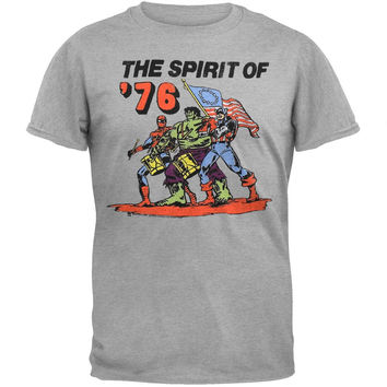 Marvel Heroes - Spirit Of 76 Soft T-Shirt