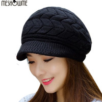 2016 Winter Beanies Knit Women's Hat Winter Hats For Women Ladies Beanie Skullies Caps Bonnet Femme Ski Sport Snapback Wool Hats