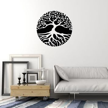 Vinyl Wall Decal Abstract Tree Of Life Nature Celtic Symbol Stickers (3619ig)