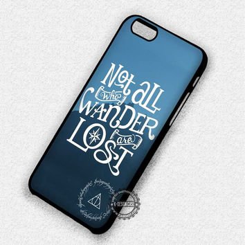 Not Those Wander - iPhone 7 Plus 6 SE Cases & Covers