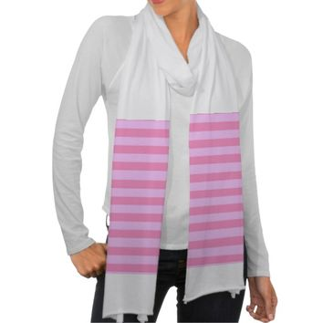 pretty pastel stripes scarf