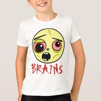 Zombie Face Brains T-Shirt