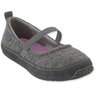 Women's L.L.Bean Wool Slippers, Mary Jane