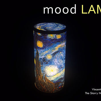 [Cettiart] Art Mood Lamp: Vincent van Gogh - The Starry Night