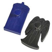 Buy Doctor Who TARDIS & Weeping Angel Cookie Cutters