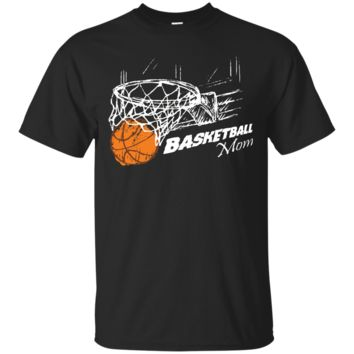 PROUD BE A BASKETBALL MOM T-SHIRT_Black