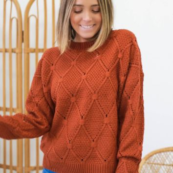 Moving On Sweater