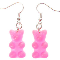 Gummy Bear Earrings - Pink