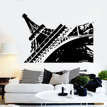 Vinyl Wall Decal Eiffel Tower French Art France Europe Decor Stickers Unique Gift (ig4679)