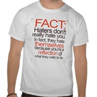 Hater Facts Tshirt from Zazzle.com