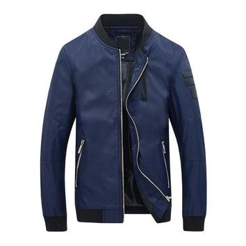 The Cadet Bomber Jacket Navy