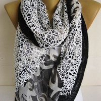 ON SALE !! Trend Scarf- Fashion Scarf- gift Ideas For Her Women's Scarves-christmas gift- for her -Fashion accessories