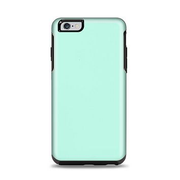 The Subtle Solid Green Apple iPhone 6 Plus Otterbox Symmetry Case Skin Set