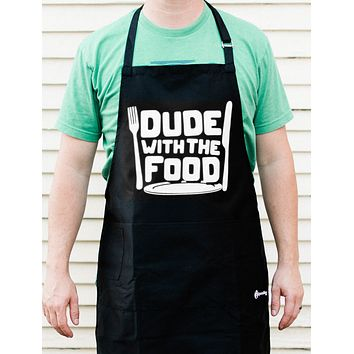 Dude With Food Apron