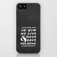 Live and Move iPhone & iPod Case by Pocket Fuel