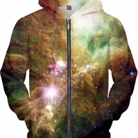 Rolling Through Space [NGC-2264] | Universe Galaxy Nebula Star Clothes | Rave & Festival Shirt