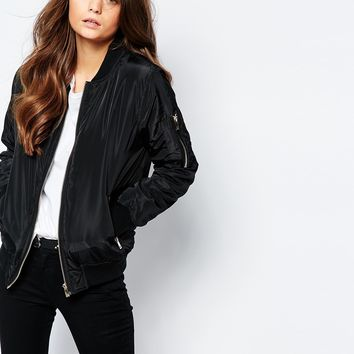 New Look Bomber Jacket at asos.com