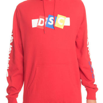The Incline Hoodie in Red