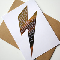 Harry Potter Card Quotes Scar - Dumbledore and Snape After All This Time Always