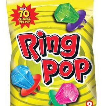 Fruit Fest Ring Pop Peg 1.5 Oz - CASE OF 12