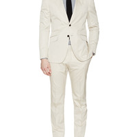 Twill Cotton Suit