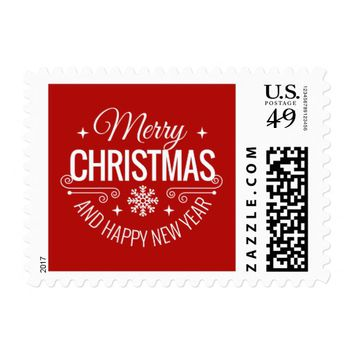 Holiday Postage Stamp