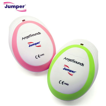 Jumper CE FDA AngelSounds Mini Fetal Doppler Pocket Baby Monitor Ultrasound Prenatal detector fetal Baby Heart Rate Detector