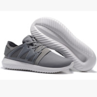 ADIDAS Fashion Sneakers Sport Shoes Tubular Viral Sneakers Grey