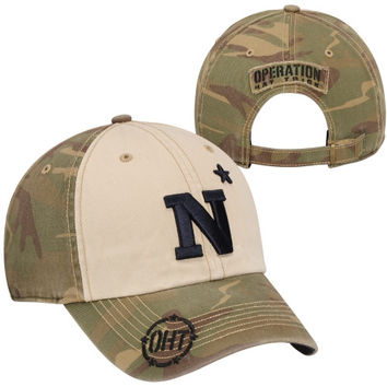 47 Brand Navy Midshipmen Operation Hat Trick Gordie Adjustable Hat - Camo