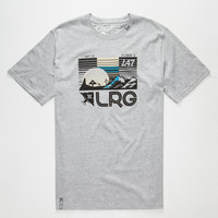 Lrg Coordinate Mens T-Shirt Heather Grey  In Sizes