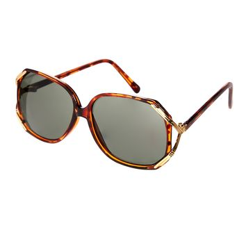Jeepers Peepers Vintage Oval Sunglasses