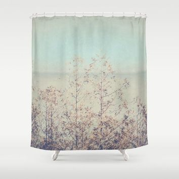 Waste Away With Me Shower Curtain by Faded  Photos