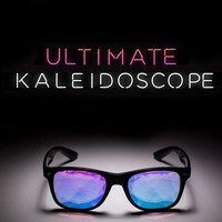 White Wayfarer Kaleidoscope Glasses | GloFX Holographic Rave Glasses