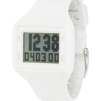 Vestal HLMDP16 Men's Watch White Helm Surf & Train Digital