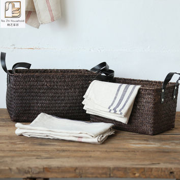 Hemp European Sisal Basket
