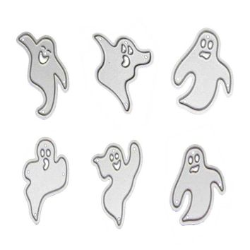 Funny Ghost Stencils Metal Cutting Dies For Scrapbooking Halloween DIY Decorative Paper Cards Template Cut Dies Embossing Folder