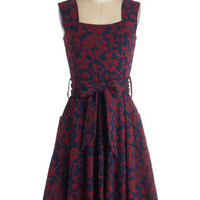 Guest of Honor Dress in Vines