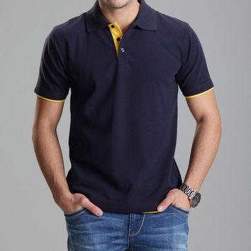 Polo Solid Casual Slim Fit