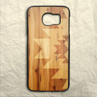 Geometric Wood Samsung Galaxy S6 Case