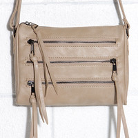 Zip Code Beige Purse