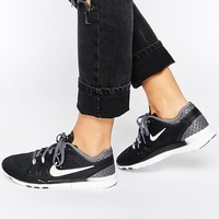 Nike Free 5.0 TR Fit 5 Breathe Black & Grey Trainers
